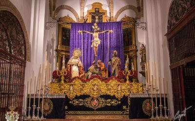 Altar para la Semana Santa 2021