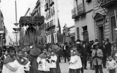 La Virgen camino de San Juan de la Palma (años 20)