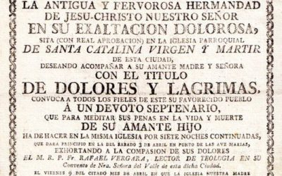Convocatoria de Septenario (1802)