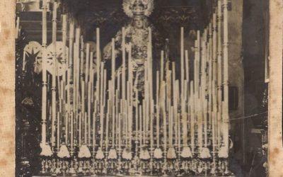 El paso de palio en Santa Catalina (1917 – 1918)
