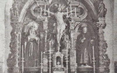 Inédita visión de la capilla a principios del siglo XX