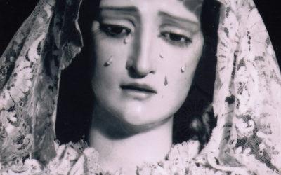 La Virgen de mantilla a mediados del siglo XX
