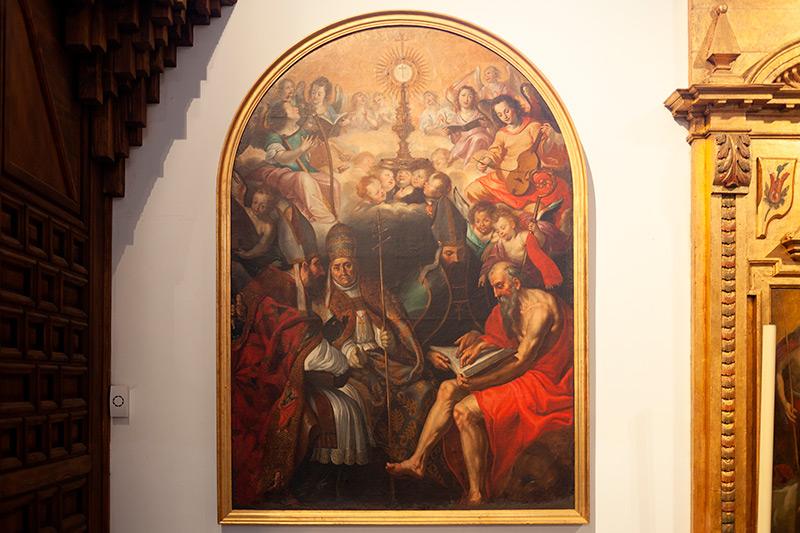 cuadro del santísimo sacramento