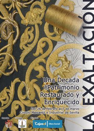 cartel exposición patrimonio restaurado