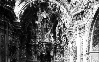 La Capilla Sacramental a principios del siglo XX