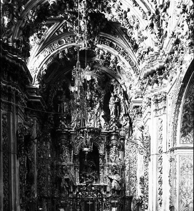 La Capilla Sacramental en fotografías de principios del siglo XX