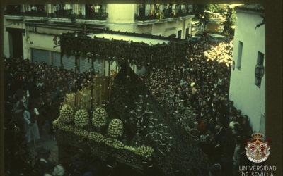 Nuestra Señora saliendo de Santa Catalina en 1963