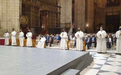 Nuevas ordenaciones diaconales en la Iglesia de Sevilla